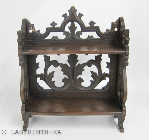 altes regal aus holz wandregal klappregal ebay. Black Bedroom Furniture Sets. Home Design Ideas