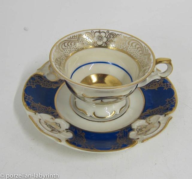 mokkatasse espresso tasse porzellan zeh scherzer bavaria gold staffiert ebay. Black Bedroom Furniture Sets. Home Design Ideas